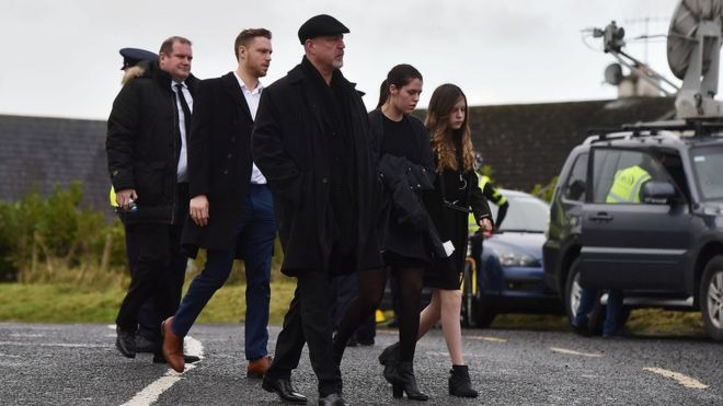 Dolores Oriordan Funeral Mass For Cranberries Singer Bbc News