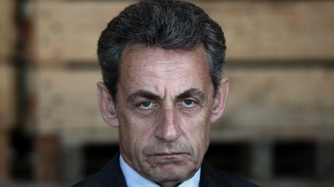 Fransa'da Sarkozy gözaltına alındı
