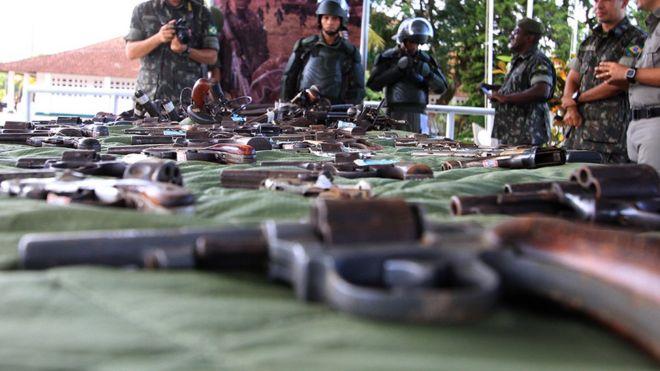 Campanha de desarmamento realizada em Alagoas em 2014