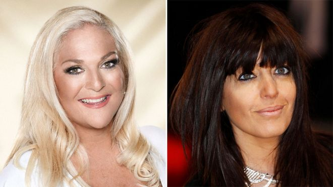 Vanessa Feltz and Claudia Winkleman are among the BBC's highest paid female stars