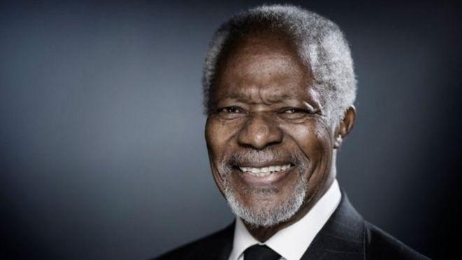 Kofi Annan, exsecretario general de ONU y Nobel de la Paz