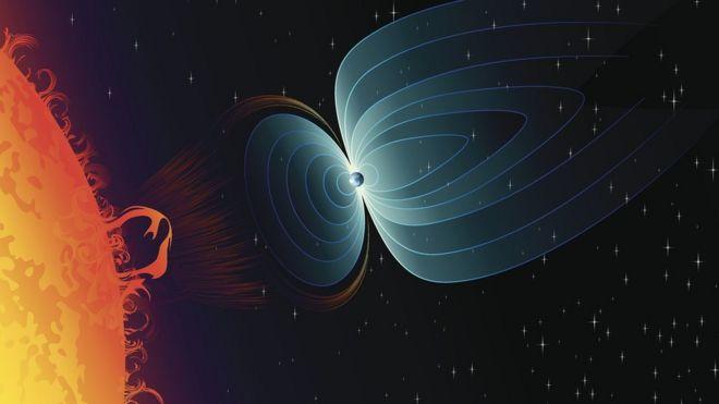 """Qué es el """"agujero magnético"""" que abarca gran parte de Sudamérica y donde el escudo de la Tierra se está debilitando de forma """"alarmante"""