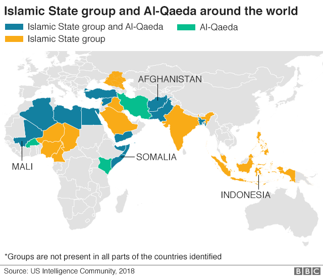 IS \'caliphate\' defeated but jihadist group remains a threat - BBC News