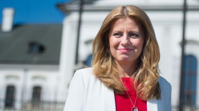 Зузана Чапутова победила на президентских выборах в Словакии