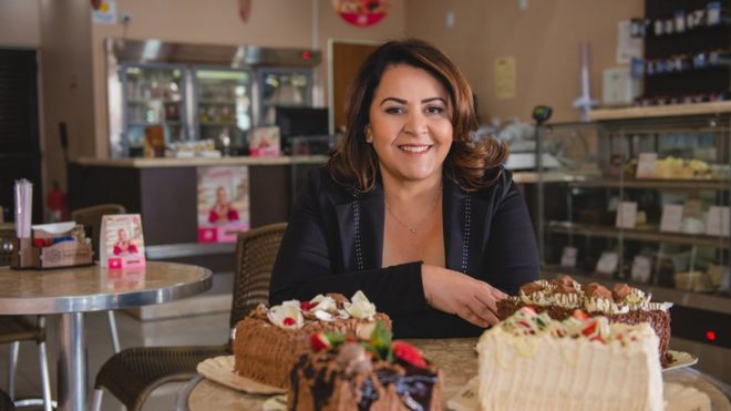 The Former Child Labourer Making Millions Baking Cakes Bbc News