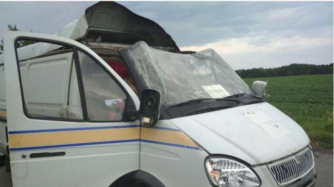 На Полтавщині підірвали авто Укрпошти і вкрали 2,5 млн грн