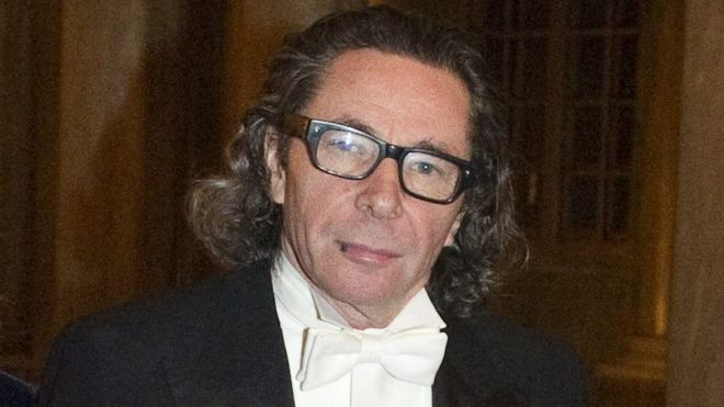 Jean Claude Arnault Pictured In  Before The Kings Nobel Dinner At The Royal Palace