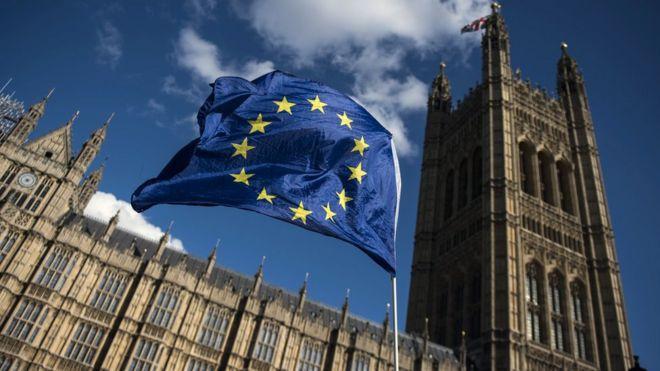 Brexit uk promises significant white paper bbc news eu flag malvernweather Images