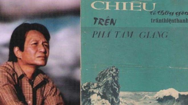 """Thi sĩ Tô Thùy Yên và ca khúc """"Chiều trên phá Tam Giang"""" do nhạc sĩ Trần Thiện Thanh phổ từ thơ của ông"""