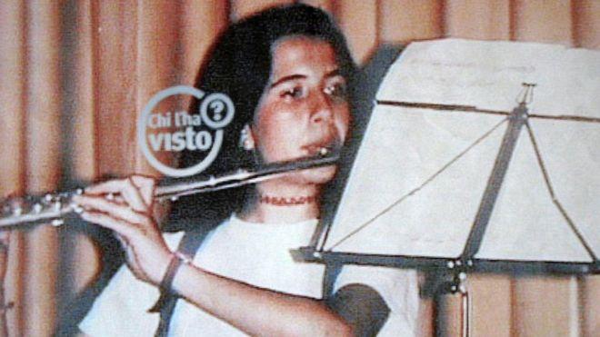 Foto de Emanuela Orlandi, quien desapareció en 1983