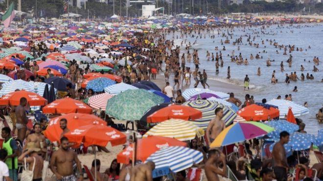 Aglomeración en Brasil