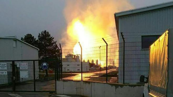 Who is sabotaging Austria's natural gas plants? Is it because the facility is a hub for 'imported Russian gas'?