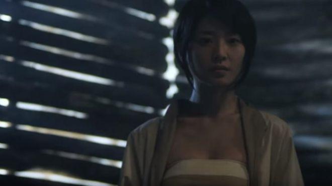 Sable Yu dalam sebuah adegan 'Snowblade' yang sejauh ini hanya sampai di tingkat 'trailer.'
