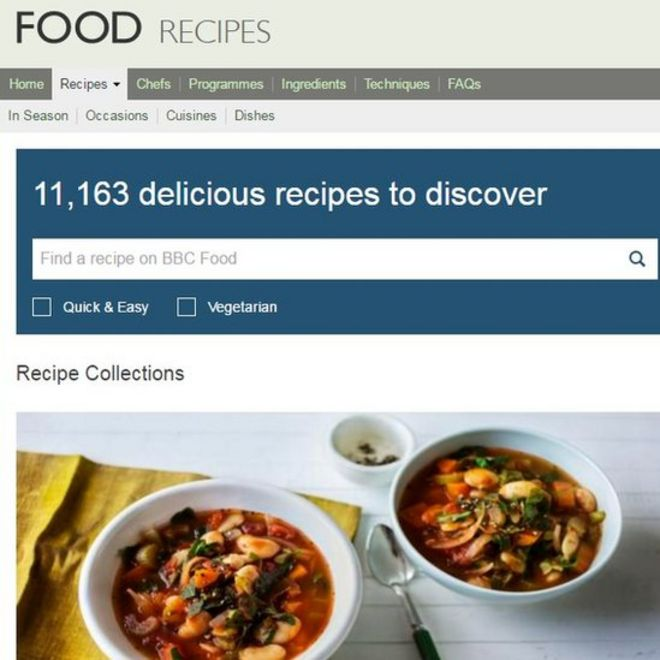 What am i supposed to eat now bbc recipes petition reaches over picture of bbc food website forumfinder Choice Image