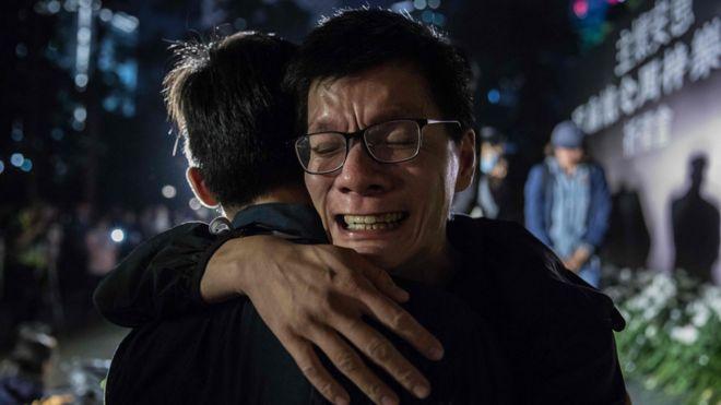 香港示威之年中的激烈情感和背后故事