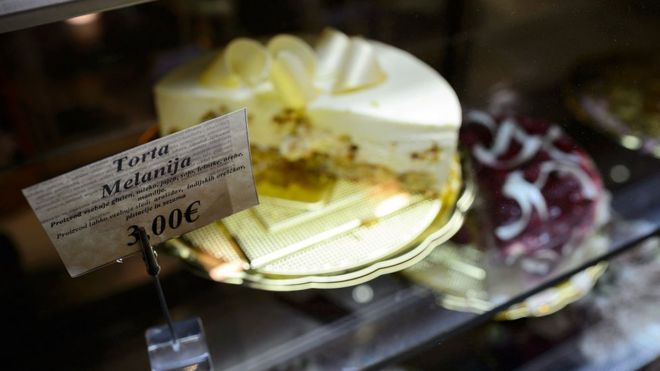 Torta Melania.