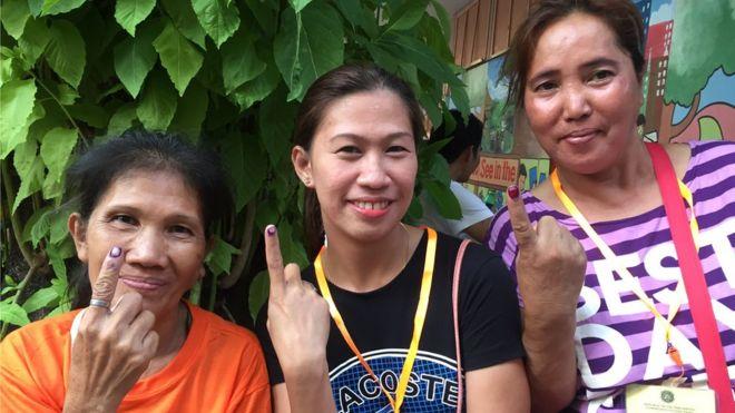 菲律宾中期选举:初步结果显示杜特尔特有望控制两院