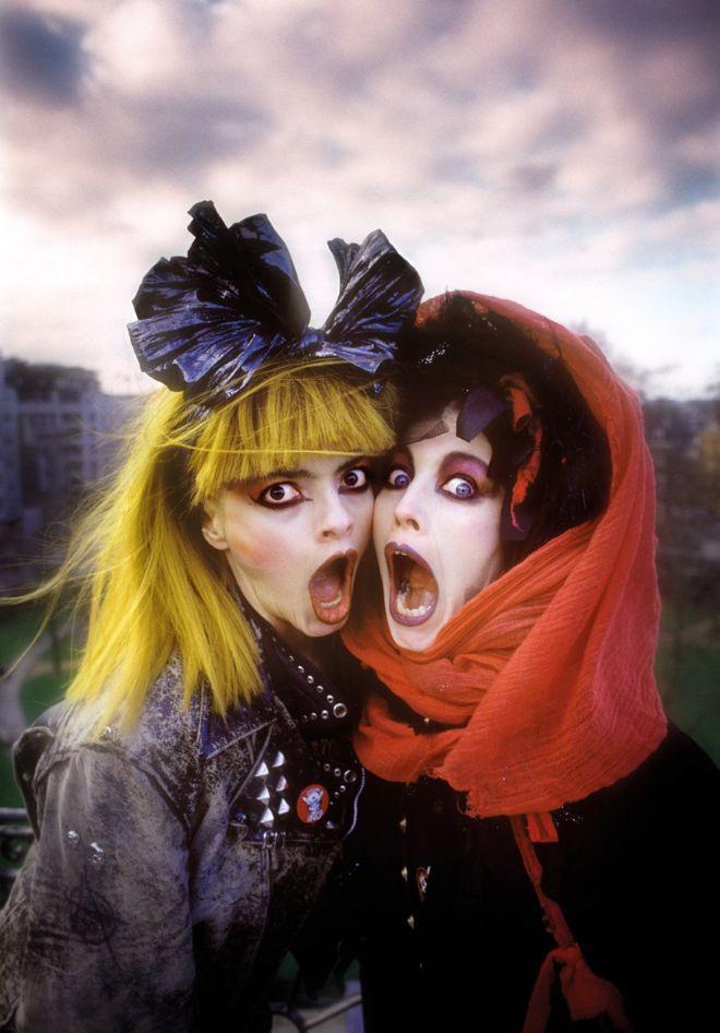 Nina Hagen and Lena Lovich, 1987