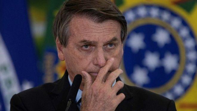 رئيس البرازيل بولسونارو