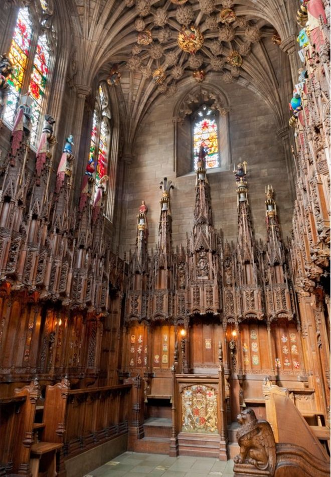 8a65d1069aa8 Theft-hit Thistle Chapel set to reopen in St Giles' Cathedral - BBC News