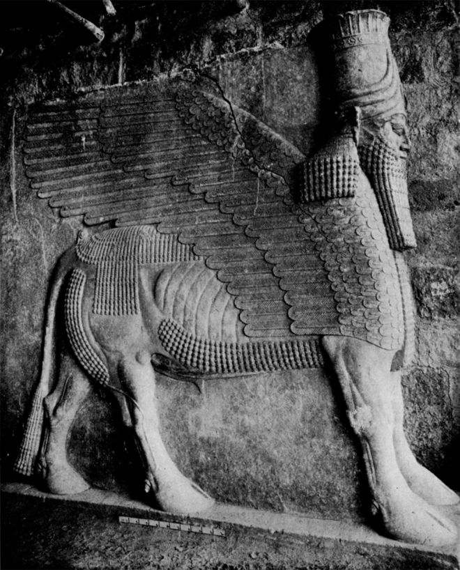 Museum Of Lost Objects The Winged Bull Of Nineveh Bbc News