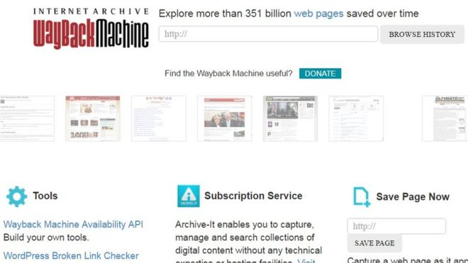 Internet Archive denies hosting 'terrorist' content - BBC News