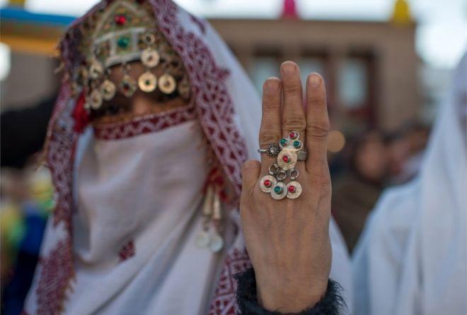 الأمازيغ يحتفلون بالعام الجديد في العاصمة المغربية الرباط