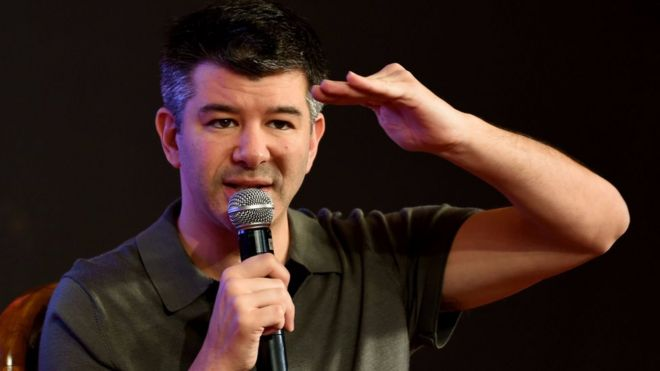 Uber's chief executive Travis Kalanick