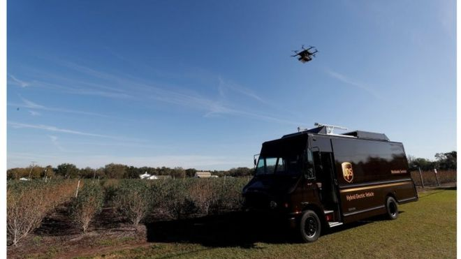 UPS Delivery Drone Has Glitch At Launch Event