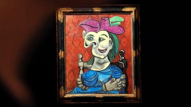 Picasso'nun Nazilerden kurtarılan tablosu 45 milyon dolara satıldı
