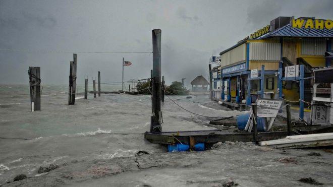 Ураган «Ирма» достиг западного берега Флориды