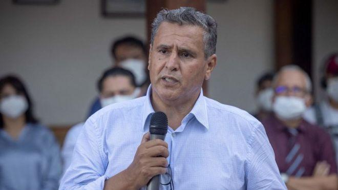 رئيس التجمع الوطني للأحرار عزيز أخنوش
