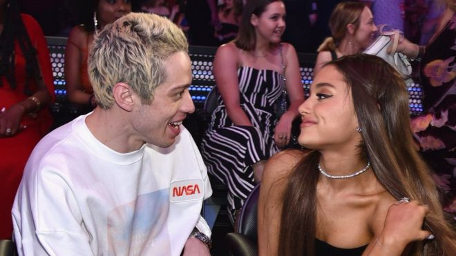 Who is ariana grande dating august 2019 moon
