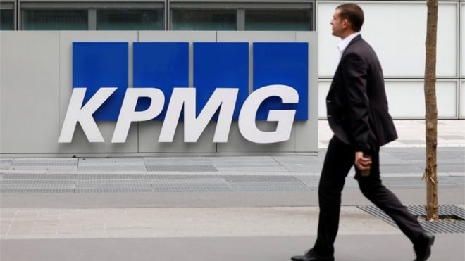 KPMG's audit work unacceptable...
