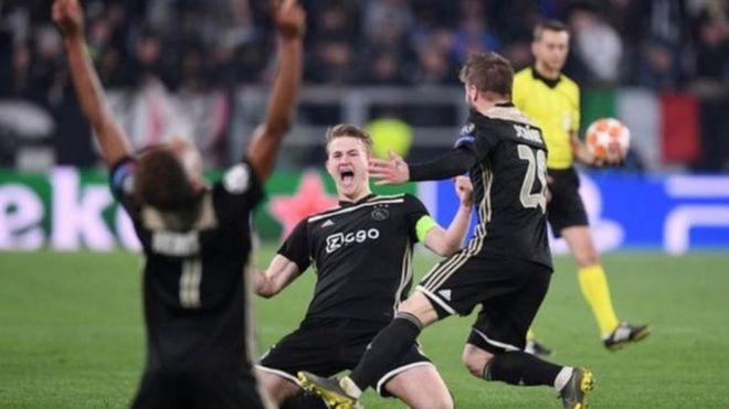 Beki wa Ajax Matthijs de Ligt