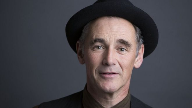 Mark Rylance  - 2018 Regular brown hair & chic hair style.