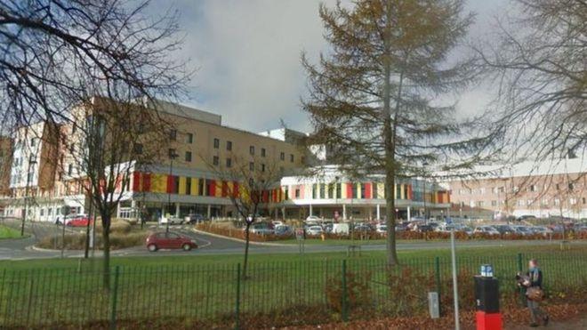 Groovy Wire Left Inside Patient At Royal Stoke University Hospital Bbc News Wiring 101 Relewellnesstrialsorg