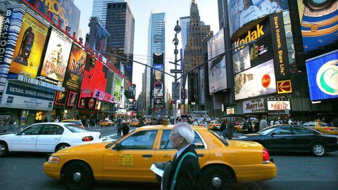 New York'taki Times Meydanı listenin 8'inci sırasında.