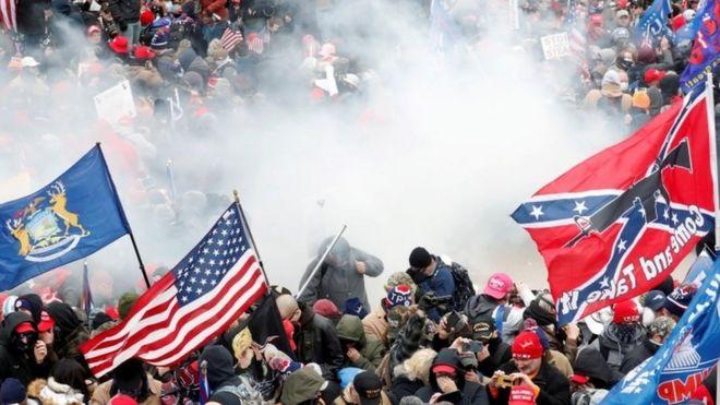 Pro-Trump mob in Washington
