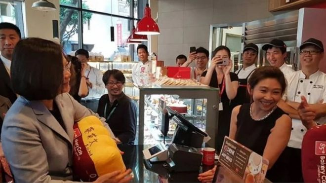 China, Taiwan and a bakery: How a coffee sparked a diplomatic row