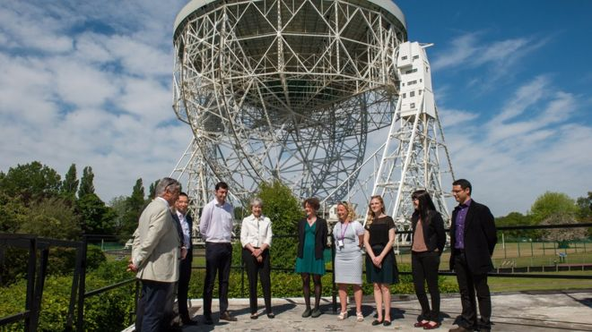 Theresa May at Jodrell Bank