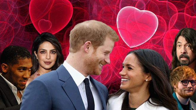 Harry Meghan And Rumoured Guests