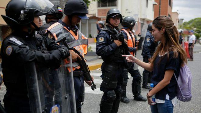 Venezuela, Mỹ