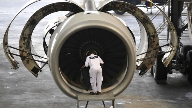 rolls royce boss says may s brexit deal is better than no deal bbc