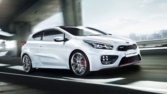 Graphic of Kia Proceed car