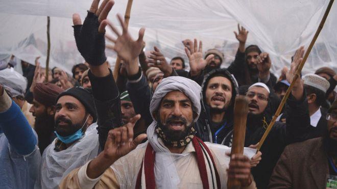 اسلام آباد میں احتجاج