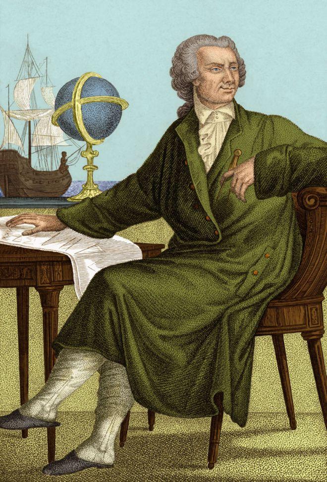 O matemático Leonhard Euler (1707-1783)