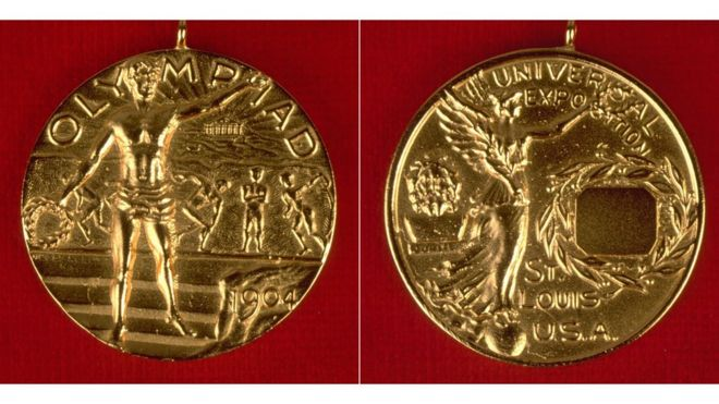 1904 medalla olímpica