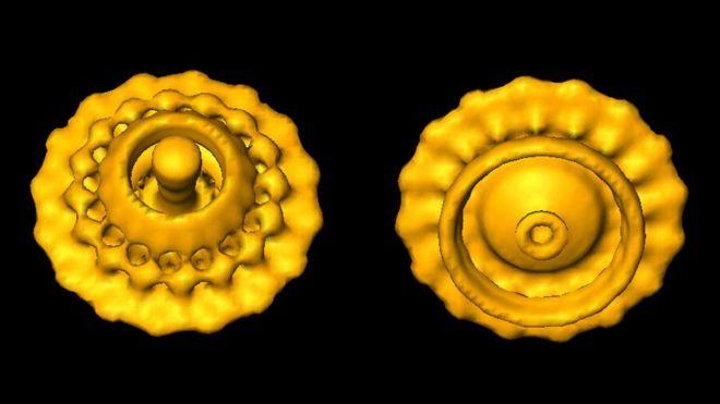 Imagen creada con la tecnología desarrollada por los ganadores del Nobel