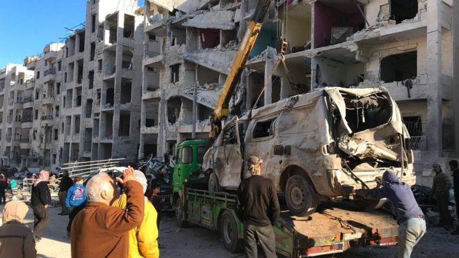 İdlib'deki gelişmeler Türkiye-İran-Rusya ittifakını sınıyor (12 Ocak 2018)